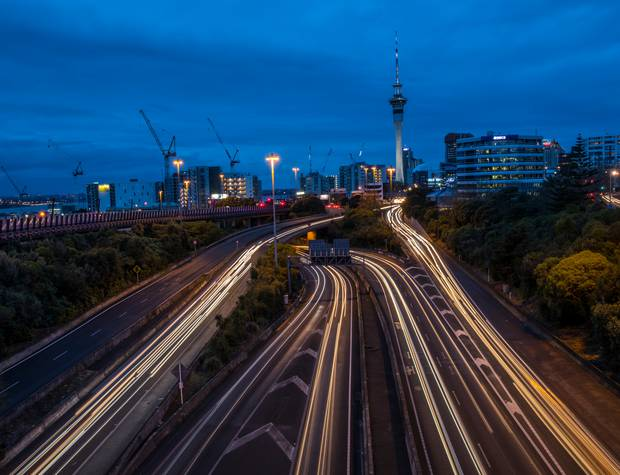 Roads are the core of Auckland's transport network. Photo / Peter Meecham