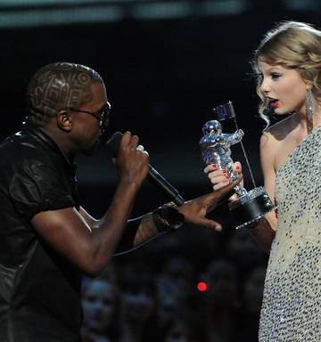 Taylor and Kanye: How two superstars, four words and 15