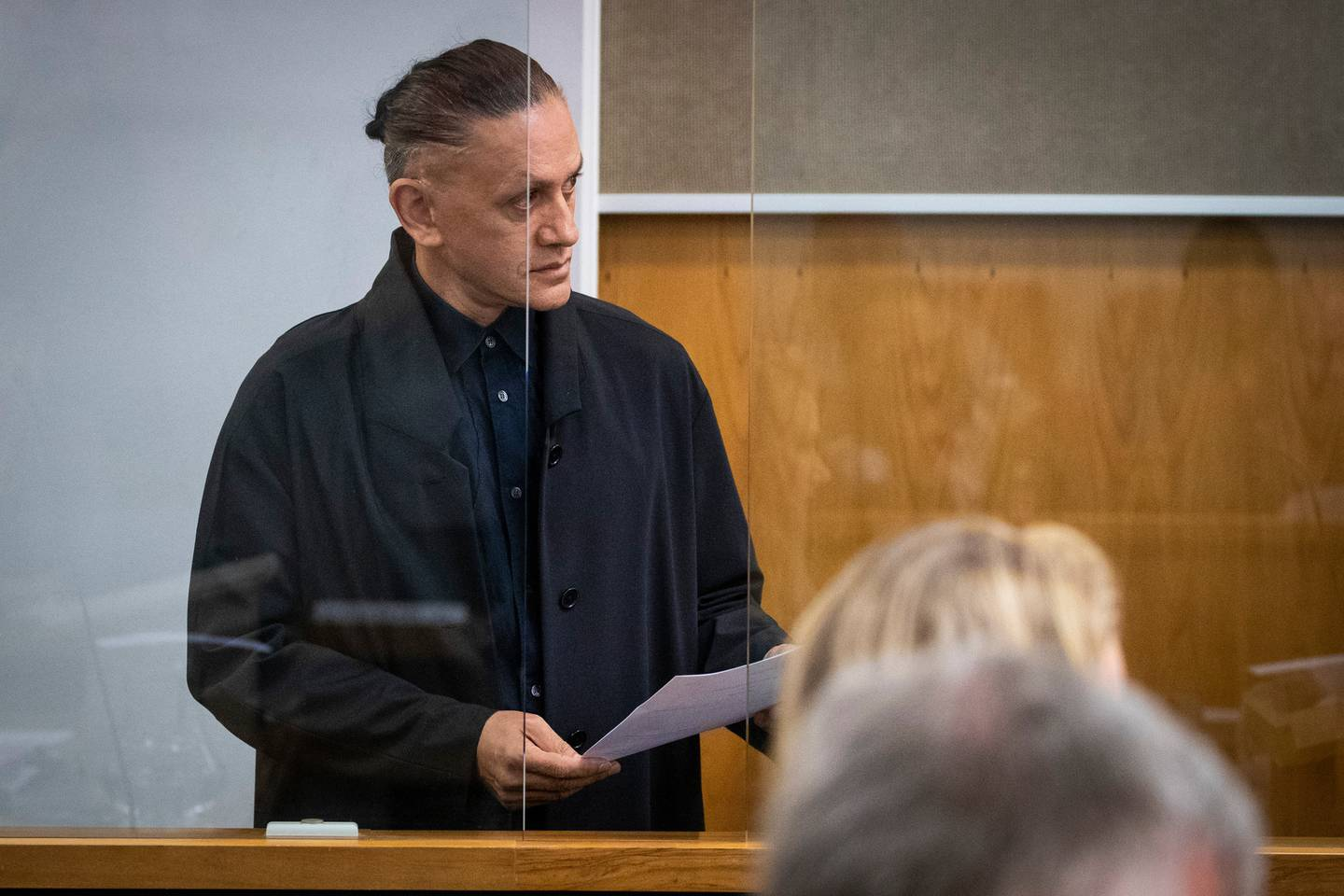 Mika X, pictured at the rich-lister's first trial in March 2019. Photo / Jason Oxenham