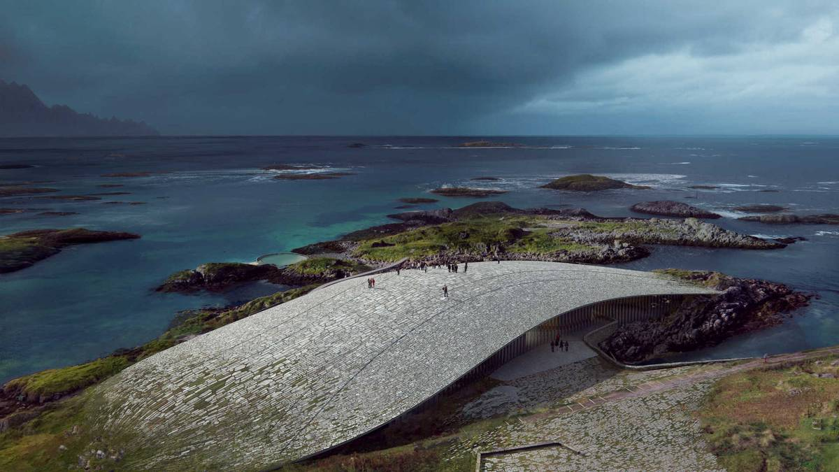 The Whale: Norway will get museum formed like big beached whale – NZ Herald