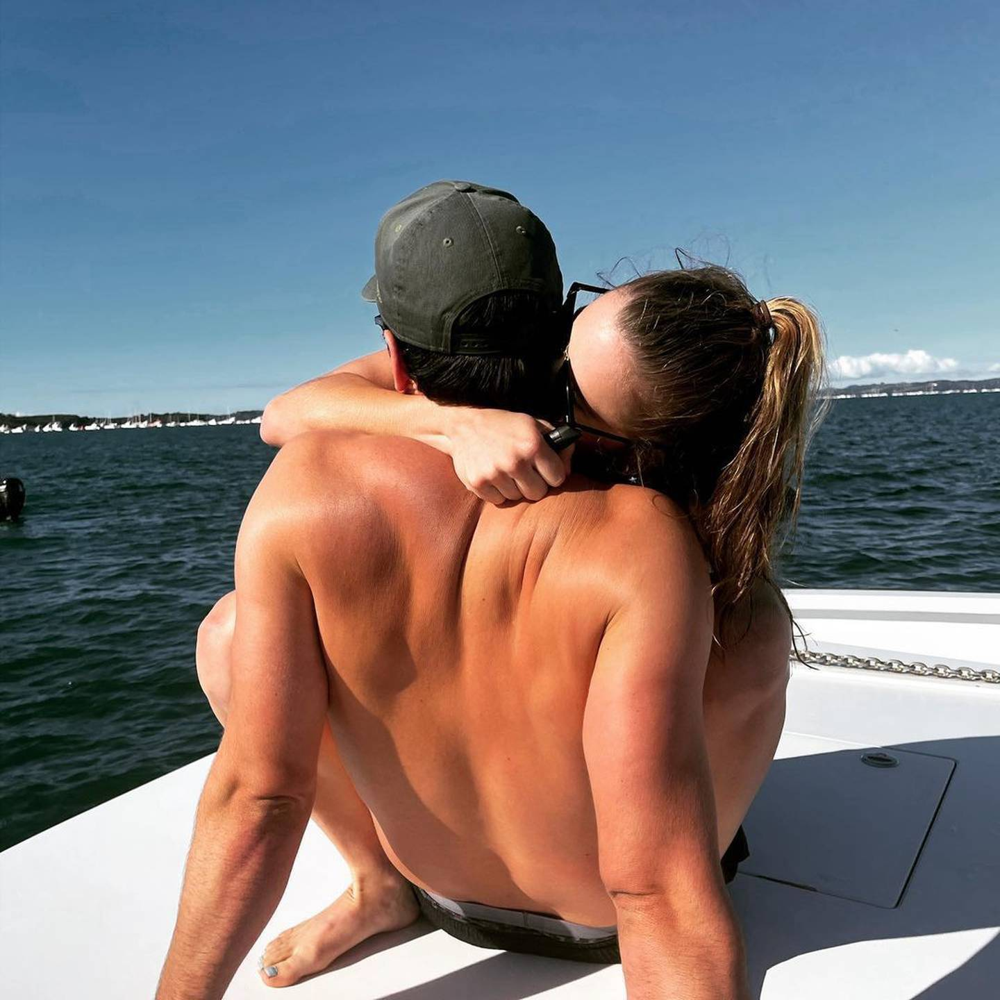 The Bachelor winning contestant Annie Theis has shared on Instagram that she has found new romance with an unidentified man. Photo / Instagram / Annelise Theis
