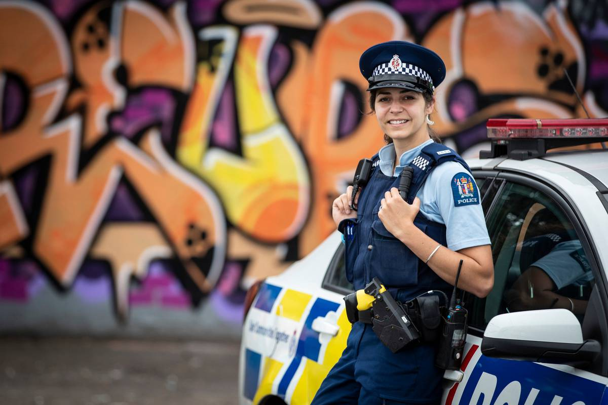 On the beat New Auckland officer Sarah Harris opens up