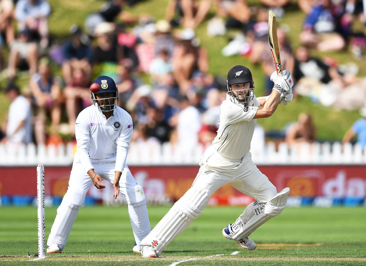 Cricket: Kane Williamson shines as Black Caps take advantage over India on day two of first test