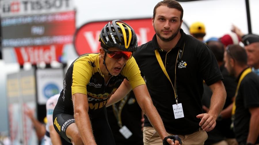 Tour de France Cyclist Pawel Poljanski Shares Gruesome Picture of His Legs