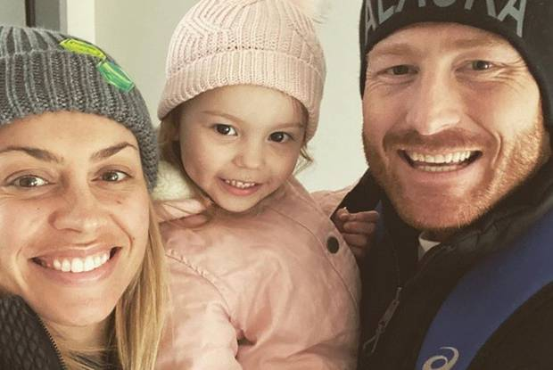 Laura McGoldrick and Martin Guptill are expecting their second child. Photo / Instagram