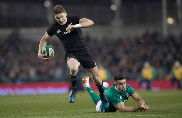Beauden Barrett is believed to have signed a four-year deal with the Blues.