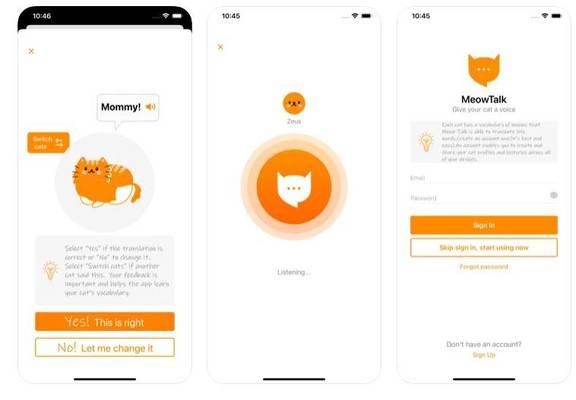 Aplikasi baru yang dapat menerjemahkan meow kucing Anda