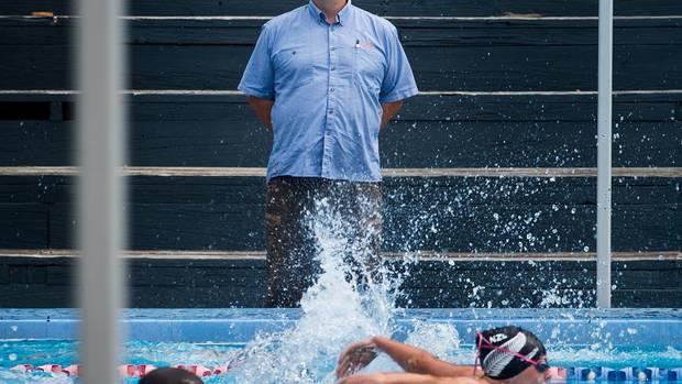 Swim Rotorua head coach Alastair Johnson. Photo / File
