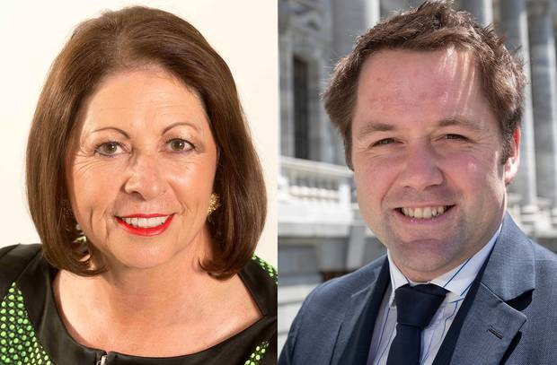 Michelle Boag and Hamish Walker combined to leak 18 Covid patients' confidential details.