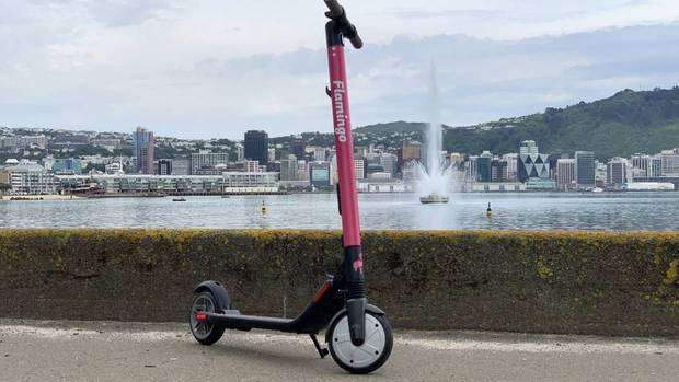 One of Flamingo's e-scooters. Photo / Supplied.