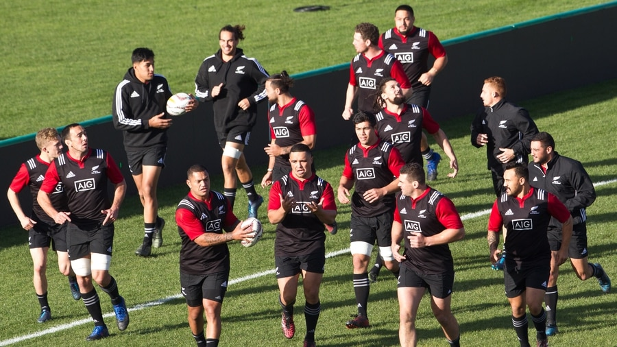 All Blacks aim big guns at Samoa