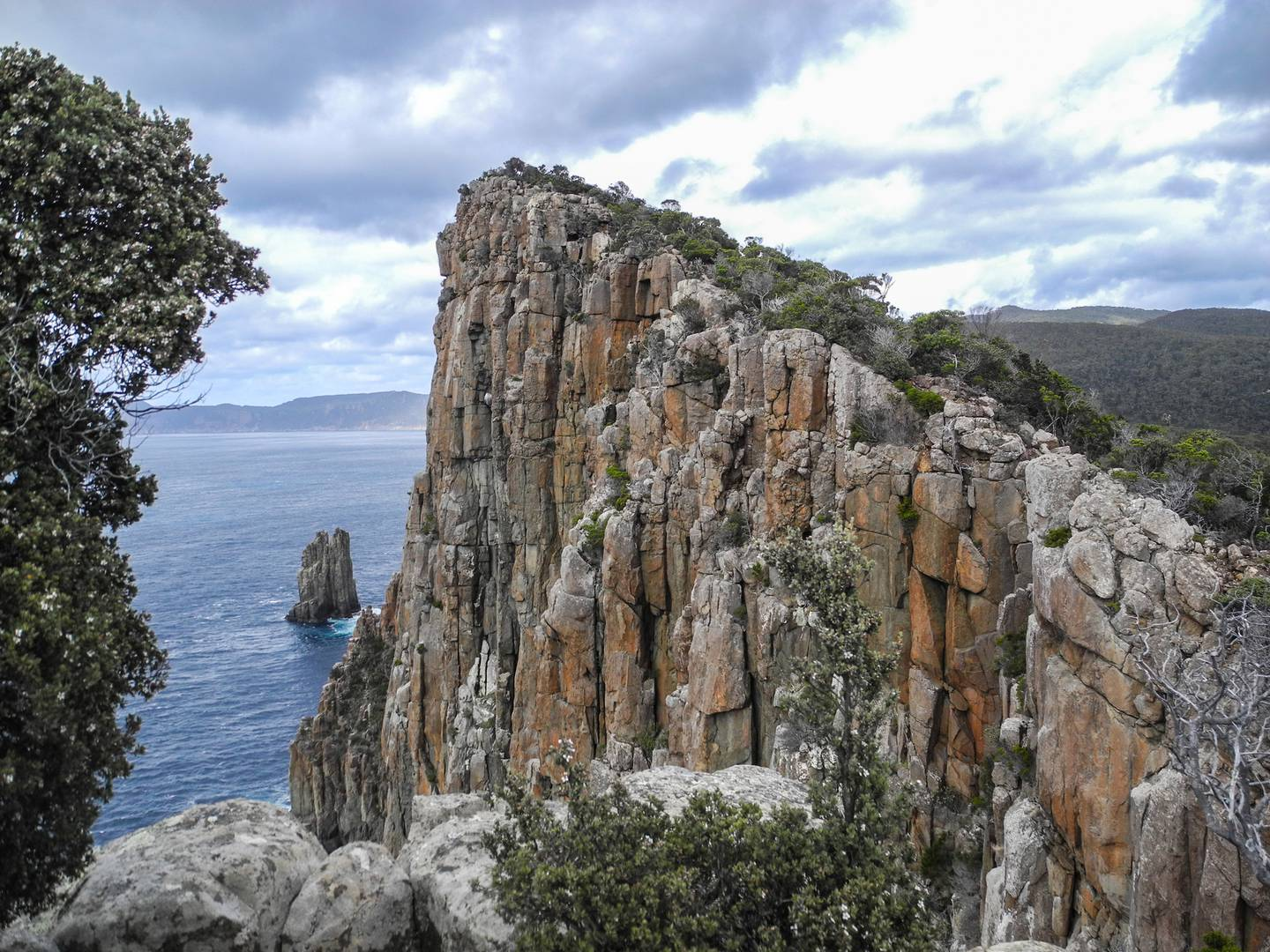 Hiking to Cape Hauy. Photo / Trevor Templeman, Supplied