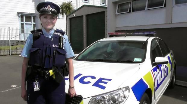 Constable Nadine Staples Photo / Stuart Munro