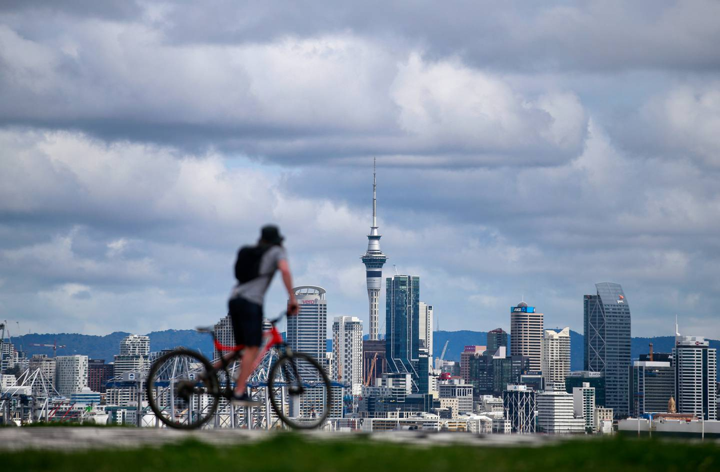 Aucklanders will find out today whether or not the city will come out of alert level 4 lockdown. Photo / Alex Burton