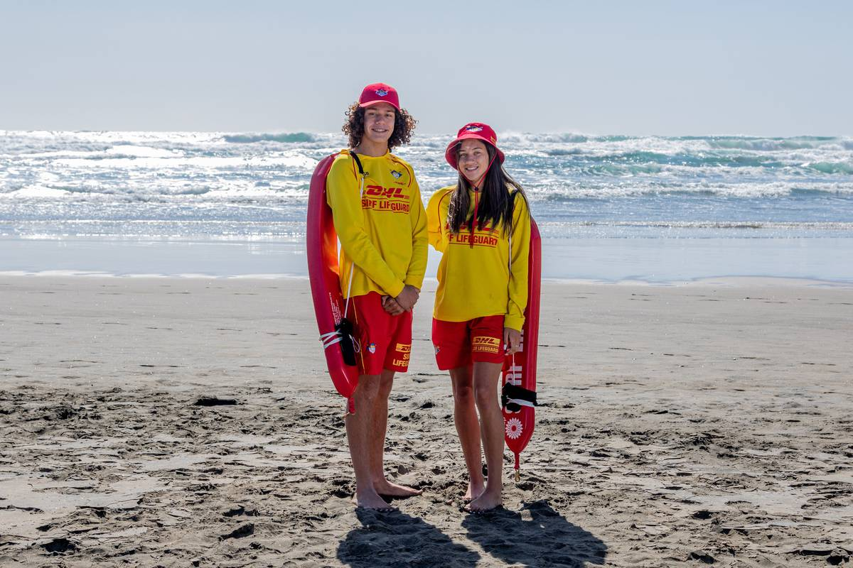 Between the Flags: Try and guess lifeguards' day jobs