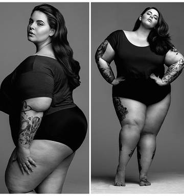 The woman on her way to being first plus-sized supermodel