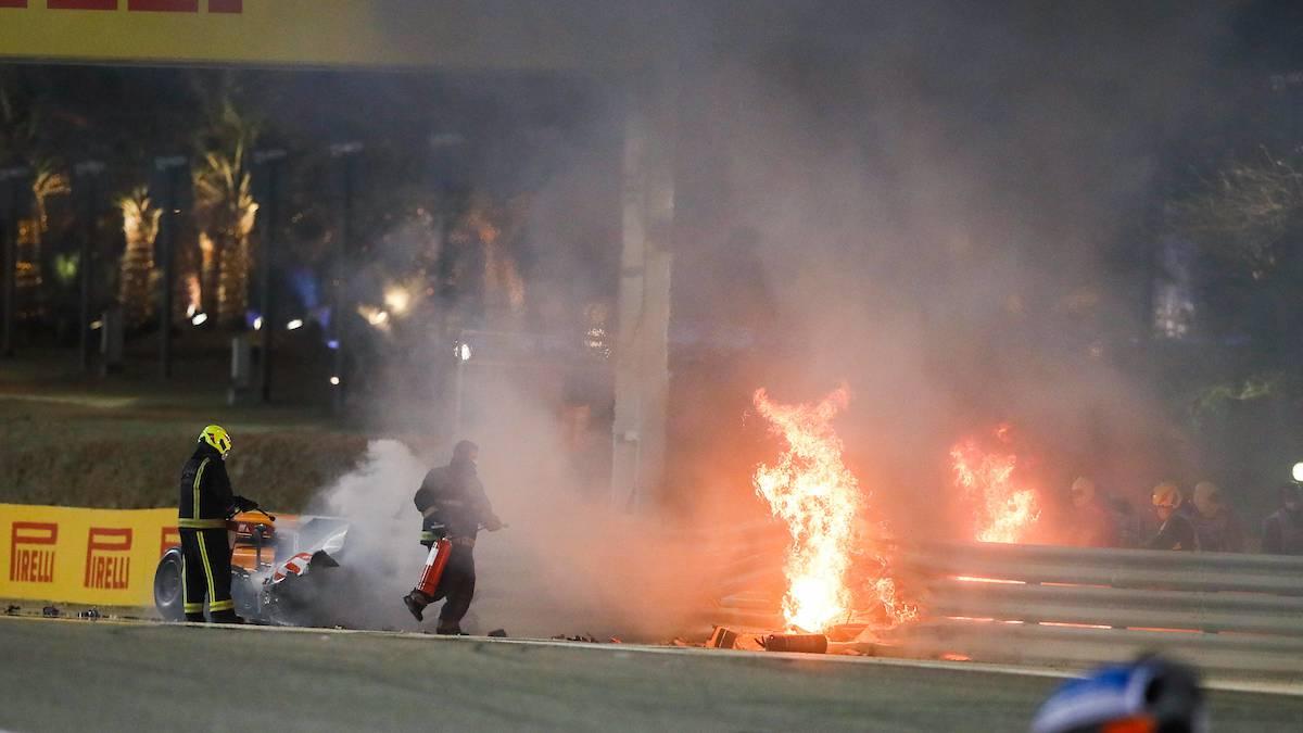 Motorsport: Fireball escape can't save Formula One driver Romain Grosjean's career – NZ Herald