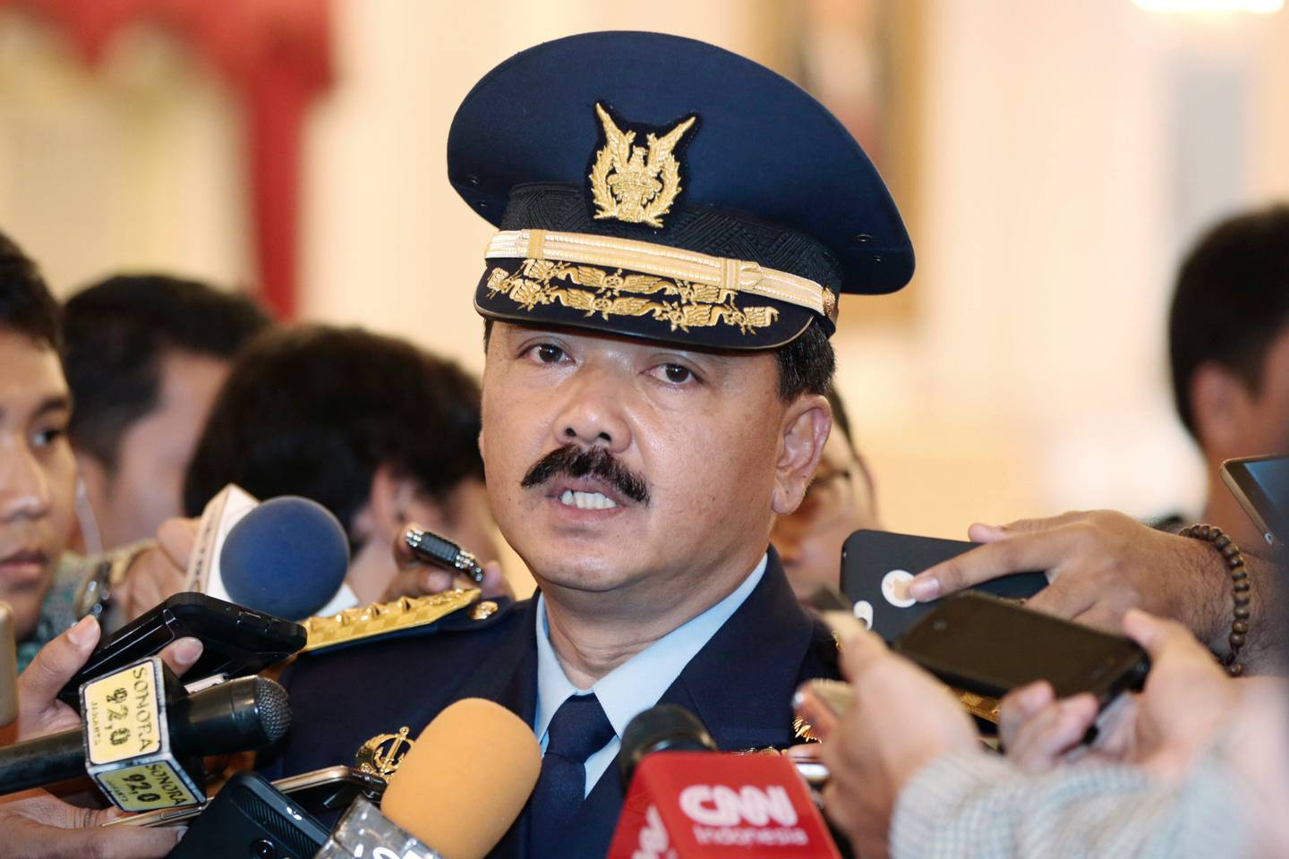 Indonesia's military chief Hadi Tjahjanto said the disappeared submarine was participating in a training exercise. Photo / AP