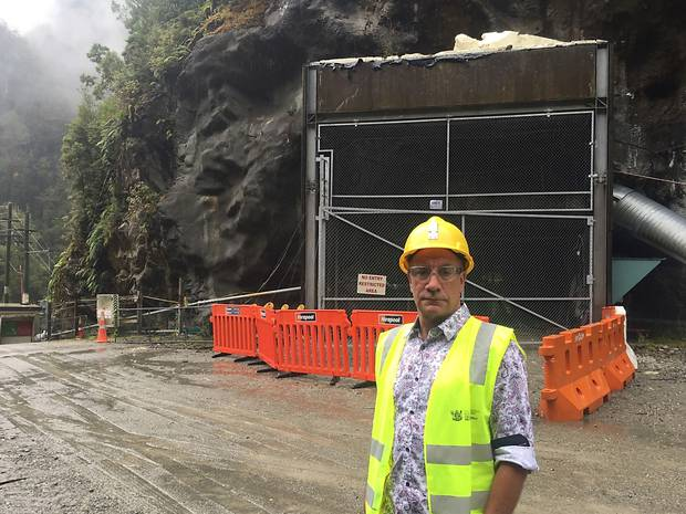 Dinghy Pattinson, the chief operating officer of the Pike River Recovery Agency, is one of three miners who will be re-entering Pike River Mine today. Photo / Kurt Bayer