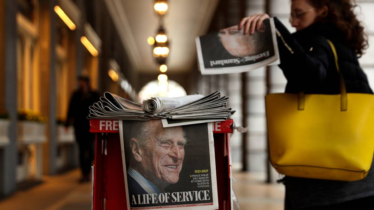 'Farewell, my beloved': World media reacts to death of Prince Philip