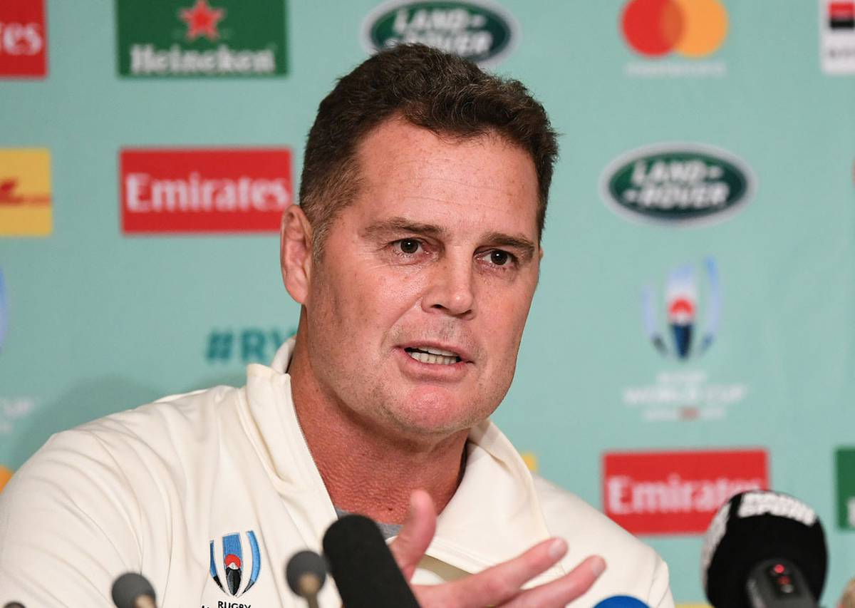 Rugby: South Africa coach Rassie Erasmus was under-going chemo at Rugby World Cup