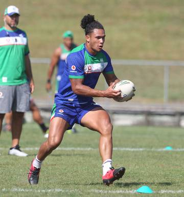 6583935c ... 2019 Warriors player Hayze Perham at preseason training at the Rotorua  International Stadium in January, 2019