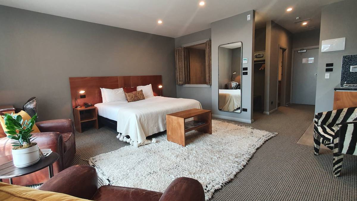 Hotel review: King and Queen Suites, New Plymouth – NZ Herald