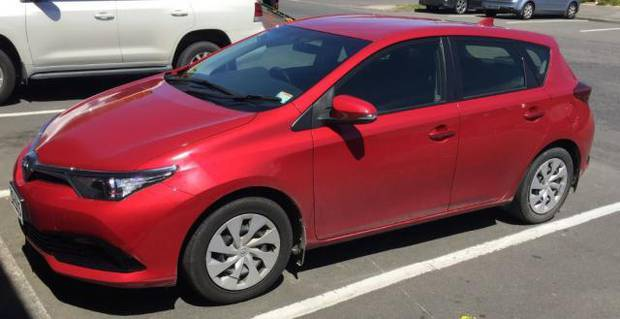 Police want to trace the movements of the car pictured. Photo / Supplied