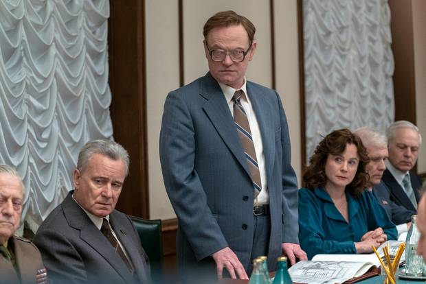 HBO's Chernobyl is up for four awards. Photo / HBO