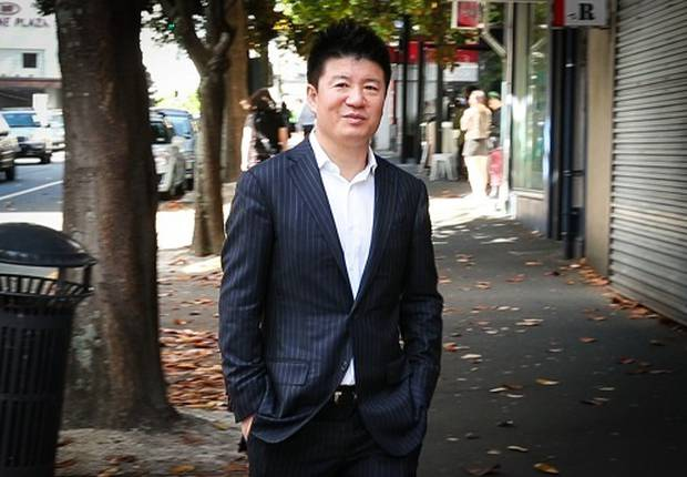William Yan, also known as Yong Ming Yan or Bill Liu, seen outside the Auckland District Court before a hearing. Photo / Jason Oxenham