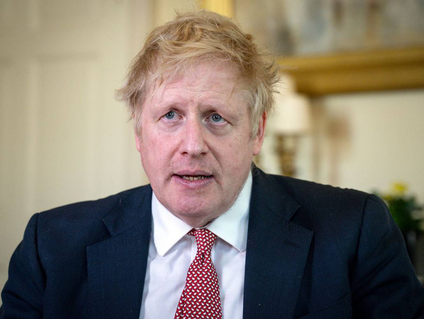 British Prime Minister Boris Johnson and fiancee Carrie Symonds have nominated the Kiwi nurse who saved Johnson's life for a major awards. Photo / AP