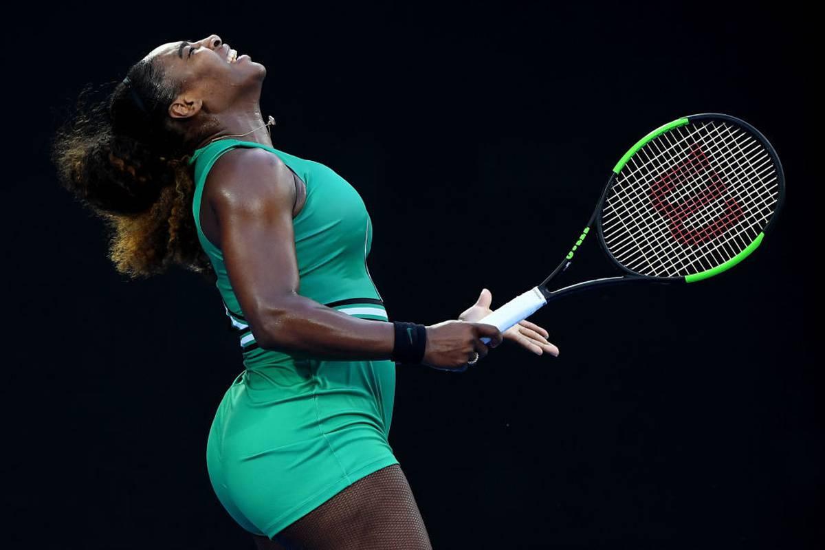 Australian Open Tennis 2019 Melbourne Serena Williams Defeats
