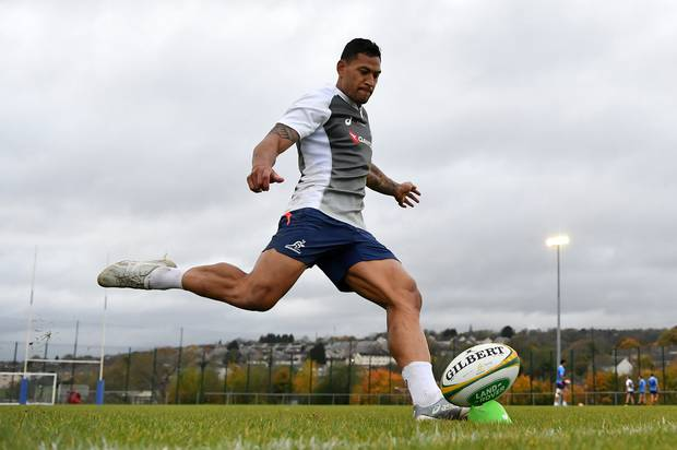 Israel Folau will now have to wait for his sanction. Photo / Getty
