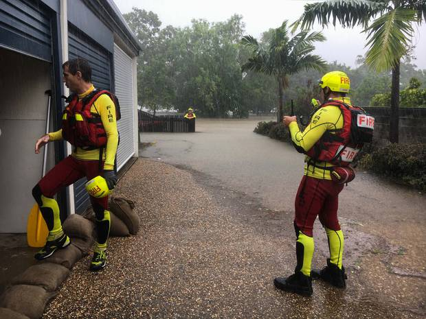 1000+ mm rain in one week forces evacuations in Australia