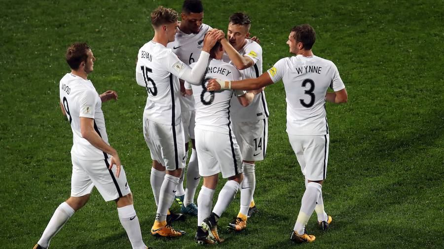 Wood hat-trick gives All Whites advantage
