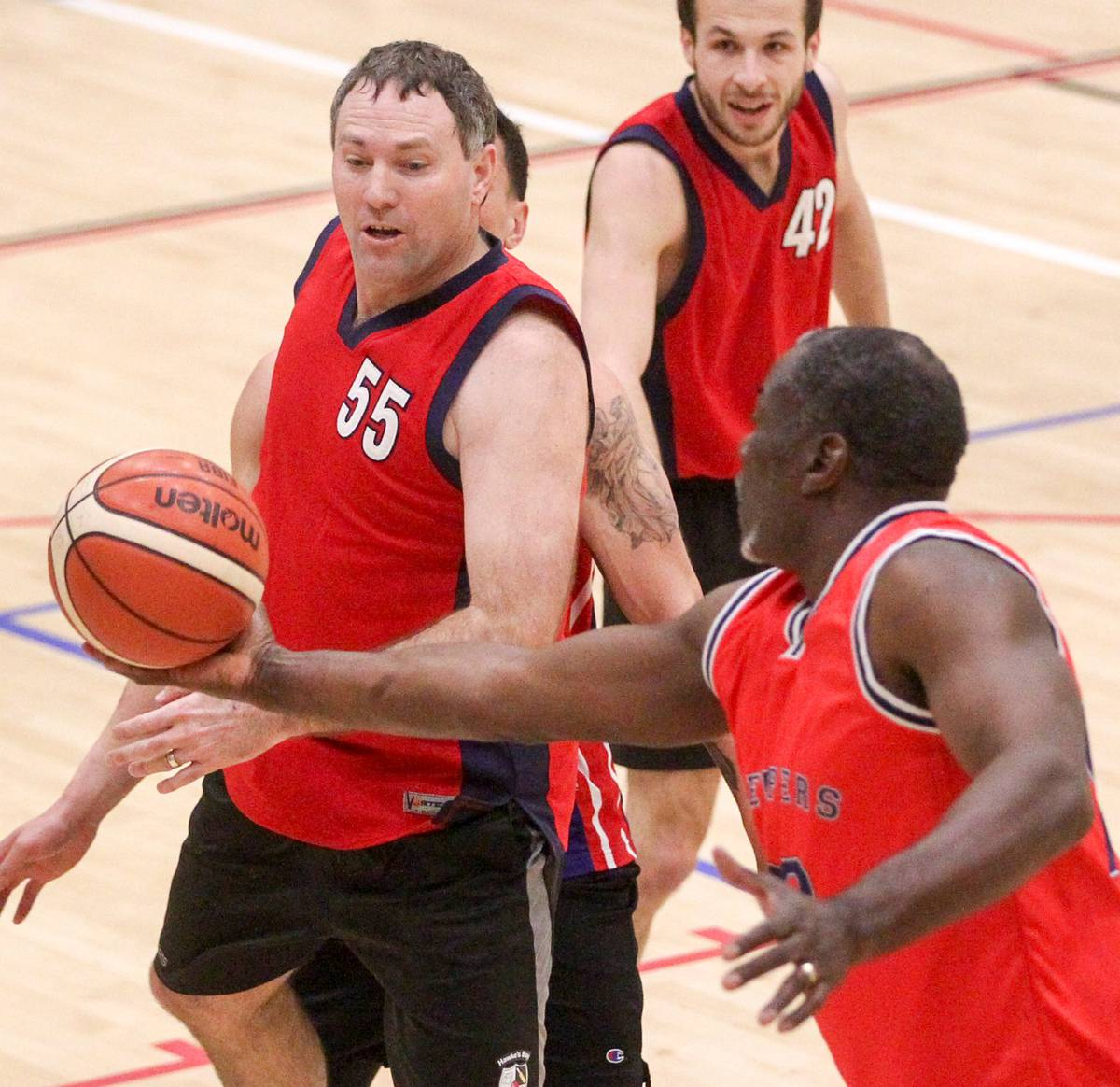 Basketball: Old guns still firing for young 'uns in Hawke's Bay league