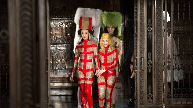 Wacky And Revealing Pam Hogg Dares To Bare At London Fashion Week Nz Herald