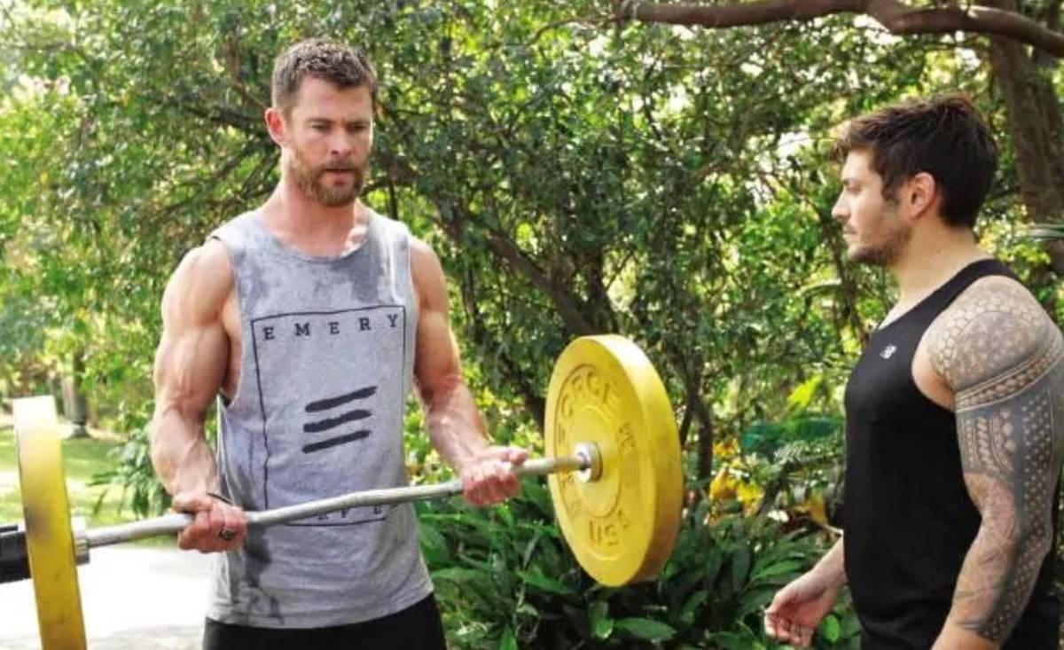 Covid 19 Coronavirus: Chris Hemsworth shares 'ultimate' at-home workout