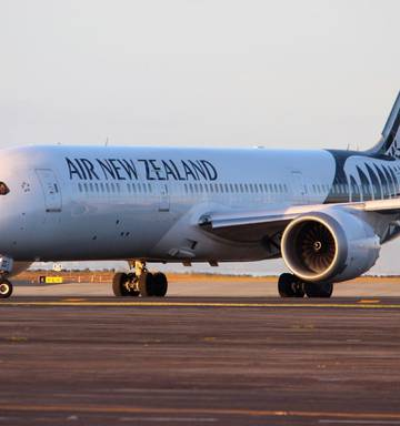 Photo Air New Zealand Is Using A Boeing 787 On Its Service To Taipei