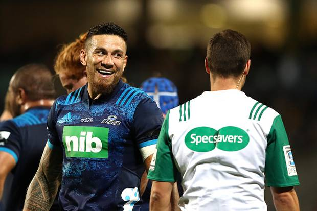 Sonny Bill Williams of the Blues. Photo / Getty