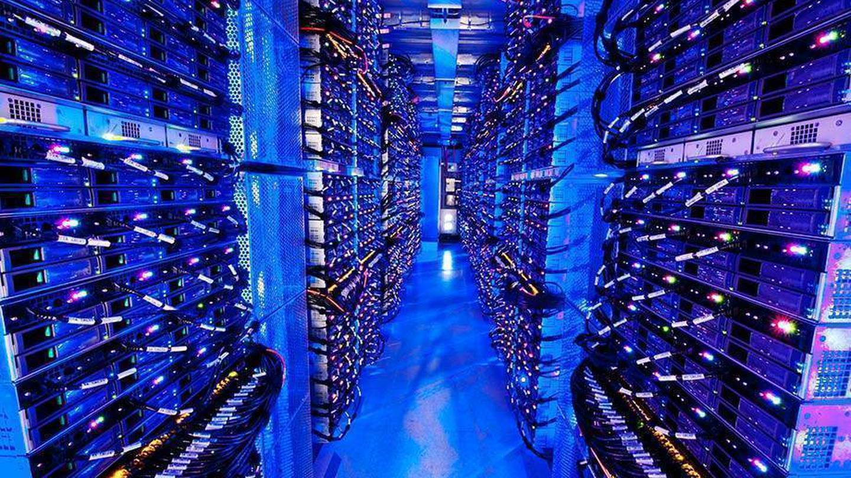Inside a Microsoft data centre in the UK. Photo / Microsoft