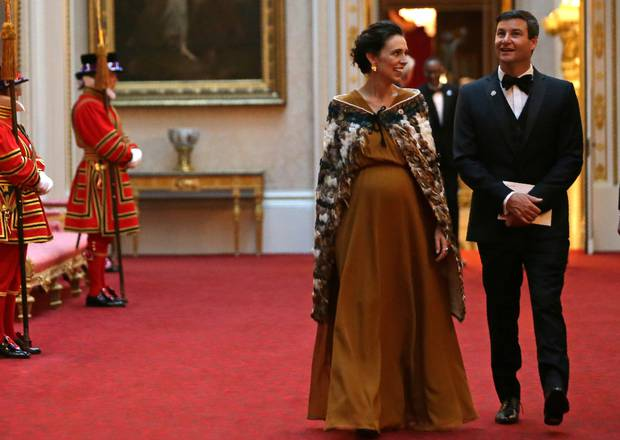 Prime Minister Jacinda Ardern attends The Queen's Dinner during The Commonwealth Heads of Government Meeting at Buckingham Palace. Photo / Getty Images