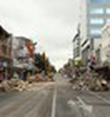christchurch earthquake before and after