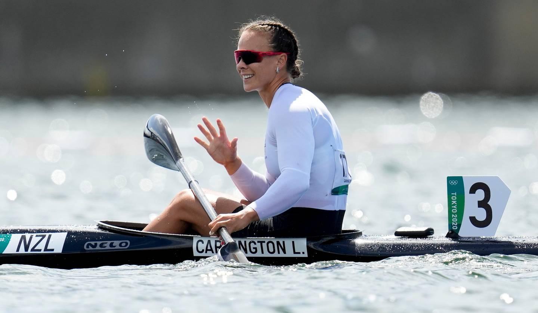 Lisa Carrington is the champion once again. Photo / AP
