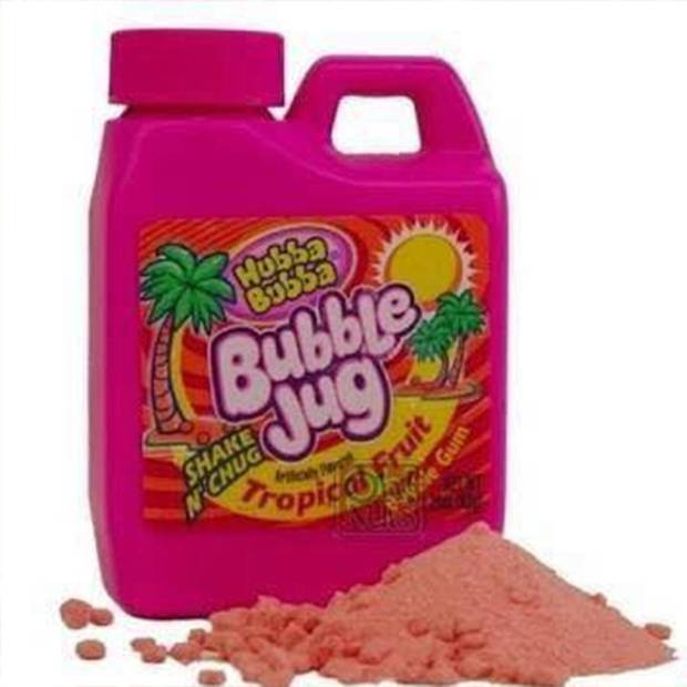 This was often a popular way to be able to share gum without having to give away a whole pirce of Hubba Bubba.