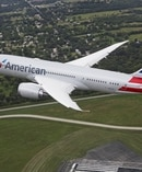 An American Airlines Boeing 787-8 Dreamliner. The airline will use the larger 9 series in NZ later this year.