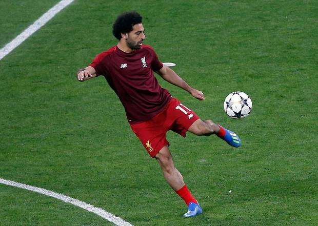 Mohamed Salah is facing a race against time to be fit for the opening game. Photo / AP