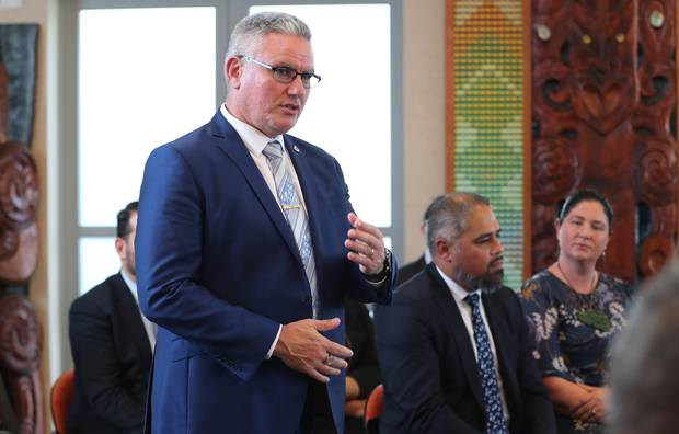 Hannah Tamaki has issued a warning to Corrections Minister Kelvin Davis, saying he is