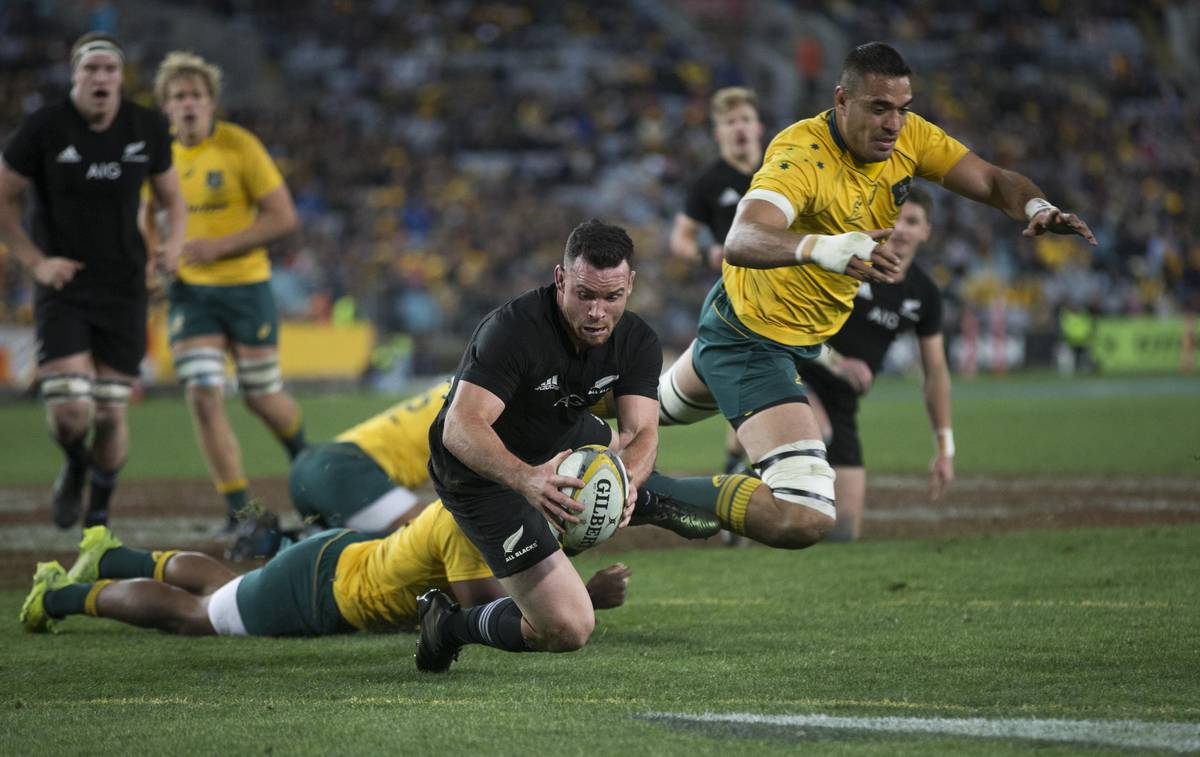 Nz Herald: Rugby: All Blacks Win Crazy Test After Perfect First Half