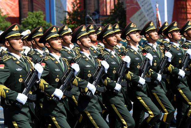 A CIA analyst believes conflict between China and Taiwan could eventually become a war with the US. Photo / Getty Images